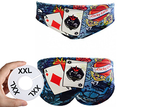 Waterpolobroek 2XL (D7=FR95)