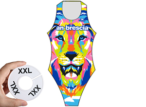 Waterpolo badpak 2XL (D42=FR44)