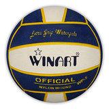 *niet meer leverbaar* (10+prijs) Winart waterpolobal maat 5 navy white navy_