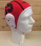 Opruiming *showmodel* Arena waterpolo cap (size s) keeper rood blauw nummer 15 op=op_