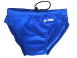opruiming showmodel Waterpolo broek FR70-D2-XS Epsan blauw+gratis waterpolobal_
