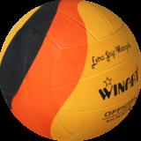 Voordeelbundel  (10+ prijs) Winart waterpolo bal Swirl maat 5 oranje geel zwart_