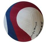 Voordeelbundel 10+ Winart waterpolobal Swirl maat 4 rood wit blauw_