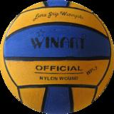 Winart waterpolobal Dames en Jeugd maat 4 geel blauw_