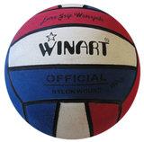 Winart waterpolobal mini-polo maat 3 rood-wit-blauw