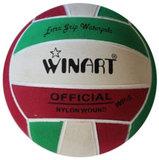Winart waterpolobal mini-polo maat 3 rood-wit-groen_