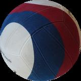 Voordeelbundel 10+ Winart waterpolo bal Swirl maat 5 rood wit blauw_