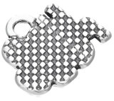 H2O Polo hanger Antique Silver Plated_
