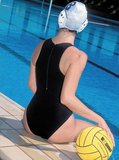 *OUTLET*  Waterpolobadpak Epsan Gold-line zwart maat XS-32_