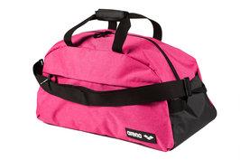*actie gratis bidon* Arena zwemtas Team Duffle 40 pink-melange