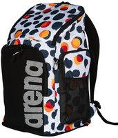 *ACTIE GRATIS BIDON* Arena zwemtas Team Backpack 45 Allover polka-dots