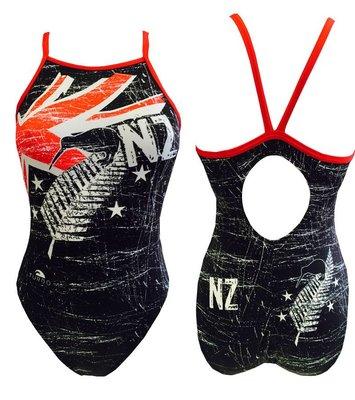 *Special Made* Turbo Sportbadpak New Zealand(Relax Pattern) (levertijd 6 tot 8 weken)