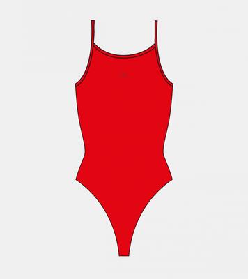 *Special Made* Turbo Sportbadpak Sirene rood (levertijd 6 tot 8 weken)