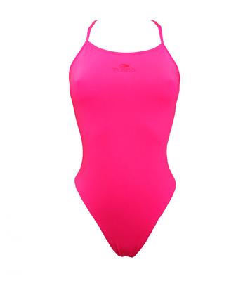 *Special Made* Turbo Sportbadpak Sirene roze (levertijd 6 tot 8 weken)