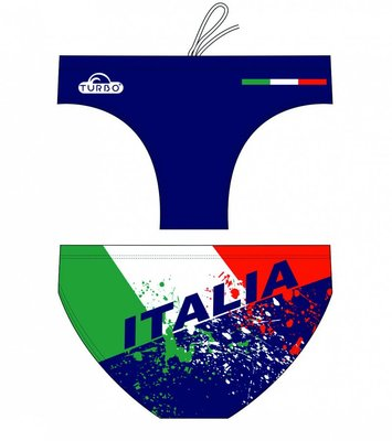 *Special Made* Turbo Waterpolo broek Italia (levertijd 6 tot 8 weken)