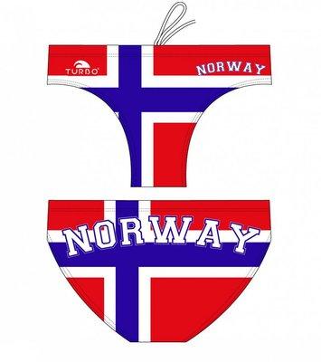 *Special Made* Turbo Waterpolo broek Norway (levertijd 6 tot 8 weken)