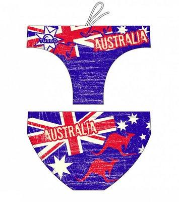 *Special Made* Turbo Waterpolo broek Australia Vintage 2013 (levertijd 6 tot 8 weken)
