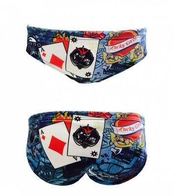 *Special Made* Turbo Waterpolo broek CARDS (levertijd 6 tot 8 weken)