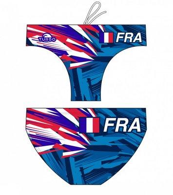 *Special Made* Turbo Waterpolo broek FRANCE (levertijd 6 tot 8 weken)