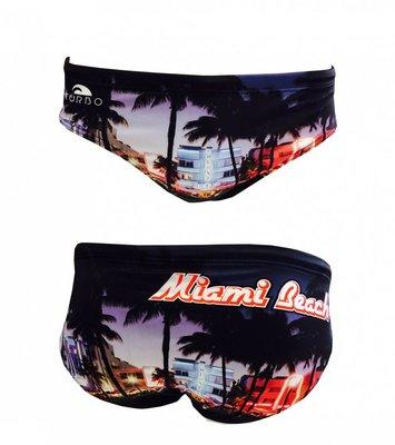 *Special Made* Turbo Waterpolo broek MIAMI BEACH  (levertijd 6 tot 8 weken)