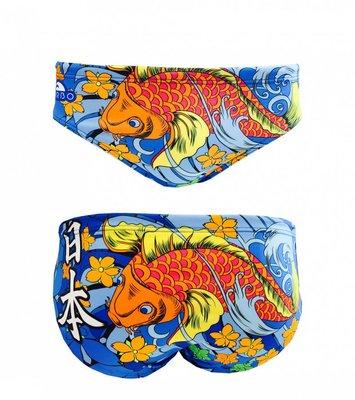 *Special Made* Turbo Waterpolo broek JAPAN VIBES (levertijd 6 tot 8 weken)
