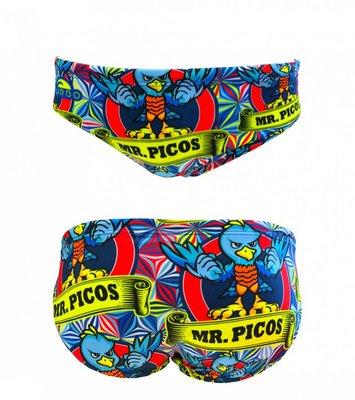 *Special Made* Turbo Waterpolo broek Mr. Picos (levertijd 6 tot 8 weken)