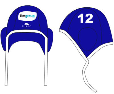 Turbo Waterpolocap Classic Professional set 26 maatwerk