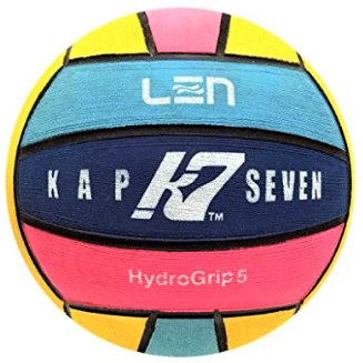 Waterpolo bal Turbo Kap-7 LEN heren Multicolor 5