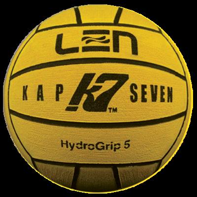 *Voordeelbundel* (5+prijs) Waterpolo bal Turbo Kap 7 Len Men Hydrogrip 5