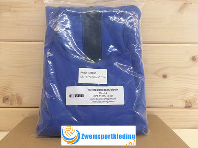 *Outlet* Waterpolobadpak Epsan Gold-line blauw maat 3XL-44