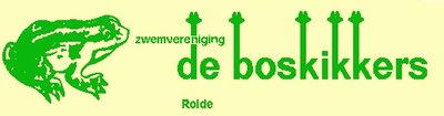 Zwemkleding met korting voor Zwemvereniging De Boskikkers uit ROLDE Provincie Drenthe