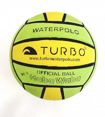*niet meer leverbaar* Turbo Water polo ball Haba Waba Pelota Official Junior