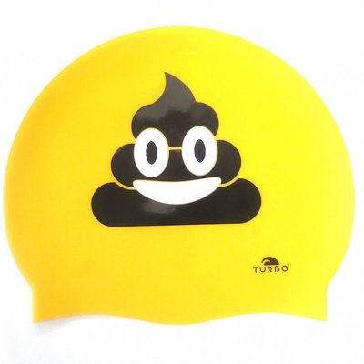 *outlet* Turbo silicone badmuts Happy Poo op=op