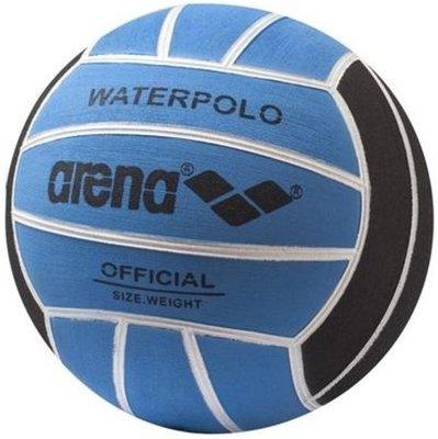 *niet meer leverbaar* Arena Waterpolobal heren size 5 blue/black