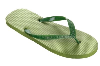 *OUTLET* Beco teenslippers groen maat 40-41