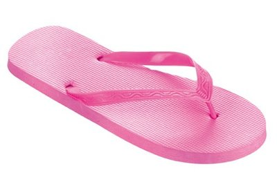 *OUTLET* Beco teenslippers roze maat 40-41