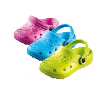 *Outlet* BECO Kinder clog Schildi, licht paars, maat 29