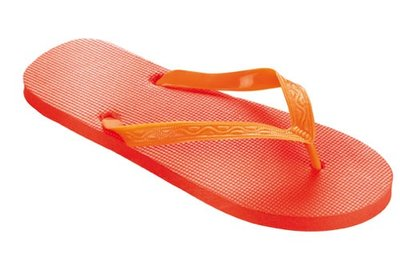 *OUTLET* Beco teenslippers oranje maat 40-41