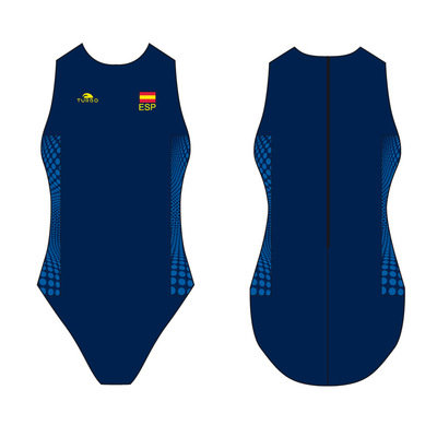 *Special Made* Turbo Waterpolo badpak Spain (levertijd 6 tot 8 weken)