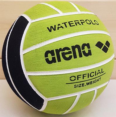 *voordeelbundel* (10+prijs) Arena Water Polo Ball Jr Size 3 black/acid