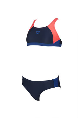 Arena G Ren Two Pieces navy-shiny-pink-royal 10-11