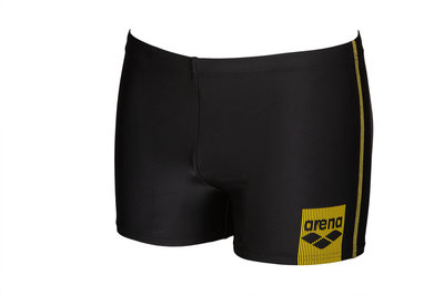Arena M Basics Short black-yellow-star 105