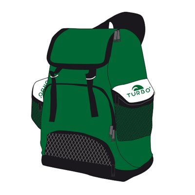 Turbo Waterpolo Luxe Rugzak Draco Green 30L