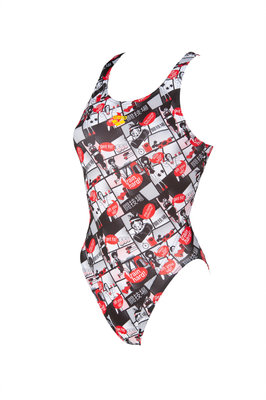Arena W Comics Race Sw.Tech One Piece L red-multi 36