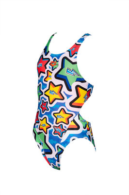 Arena G Frolic Jr Tech Back One Piece L royal-multi 8-9Y