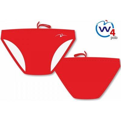 (niet meer leverbaar) Waterpolo Trunk Waterfly Basic Red