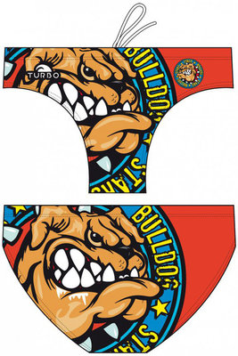 *outlet* Exclusive Turbo waterpolo zwembroek Bulldog Force FR70 | D2 | XS