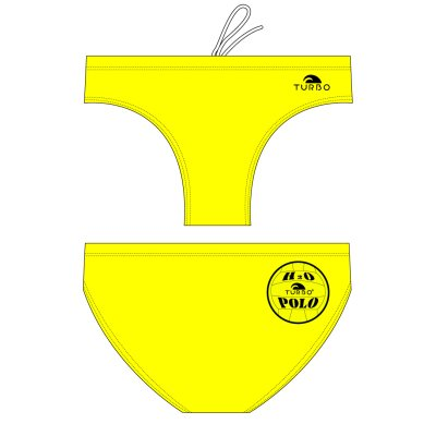 *special made* Turbo Waterpolobroek basic yellow (levertijd 6 tot 8 weken)