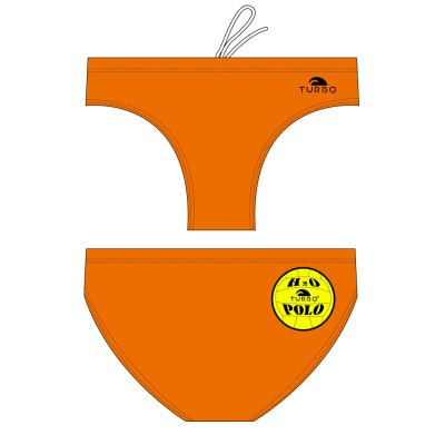 *special made* Turbo Waterpolobroek basic orange (levertijd 6 tot 8 weken)