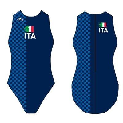 *Special Made* Turbo Waterpolo badpak ITALY  (levertijd 6 tot 8 weken)